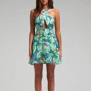 Mara Hoffman Leaf Print Dress